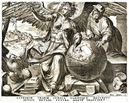 Cornelis Cort 1565 Astrologie
