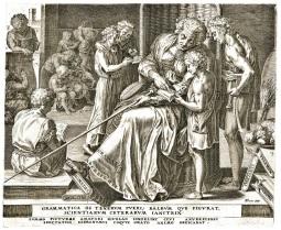 Cornelis Cort 1565 Grammar