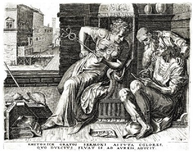 Cornelis Cort 1565 Rhetoric